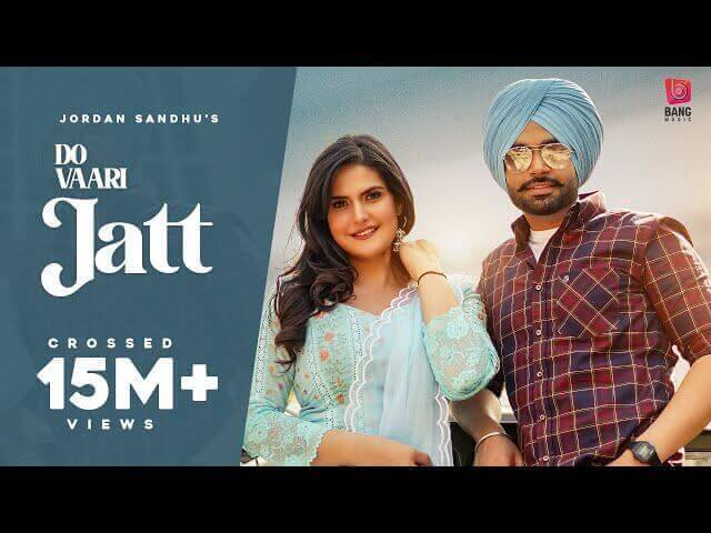 Do Vaari Jatt Lyrics in Hindi Jordan Sandhu